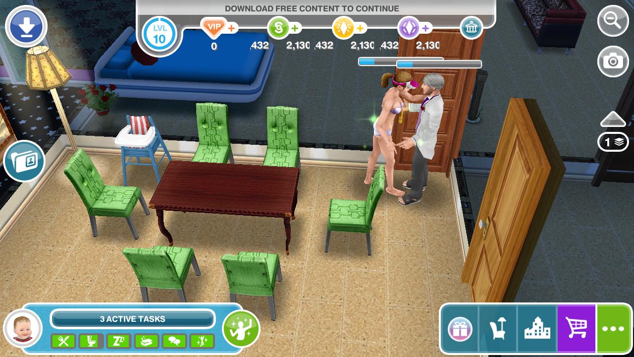 the sims freeplay mod apk vip latest version